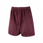 Football Shorts - Maroon